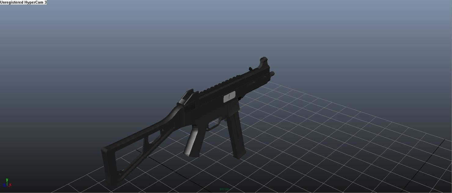 ump45 ready 3d model