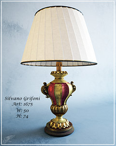 3d model silvano grifoni art 1675