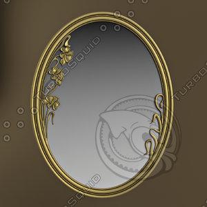 3d model mirror medea