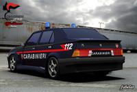 Alfa 75 Carabinieri std mat
