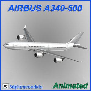 airbus a340-500 max