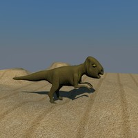 3d archaeoceratops dinosaurs model