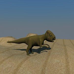 3d archaeoceratops dinosaurs model