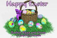DC Easter Basket,Eggsandgrass