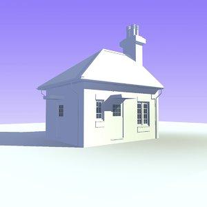 3d bungalow house unit 7