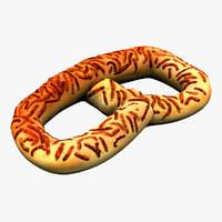 big pretzel 3d model
