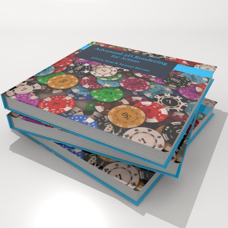 book custom 3d model