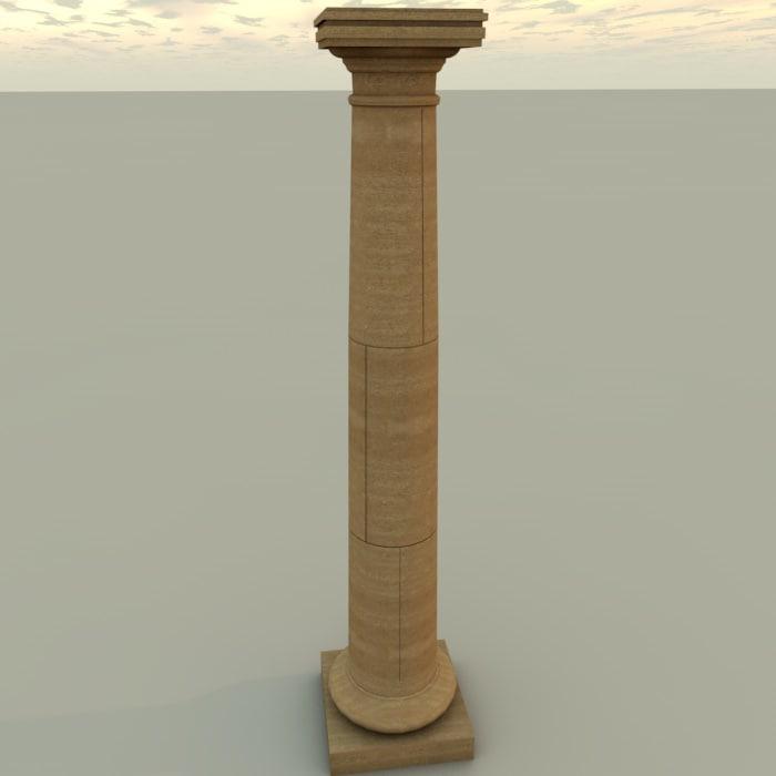 c4d column