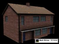 council house 3d model