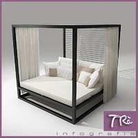3d daybed exterior designs