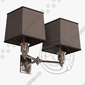 eichholtz lamp lexington double 3d max