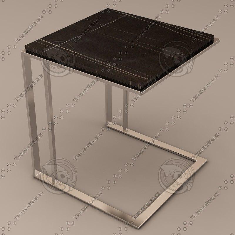 3d eichholtz table cocktail model