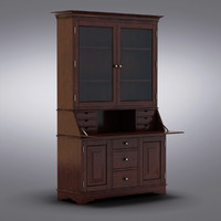 Pottery Barn - Andover Cabinet - Graham Bar & Hutch