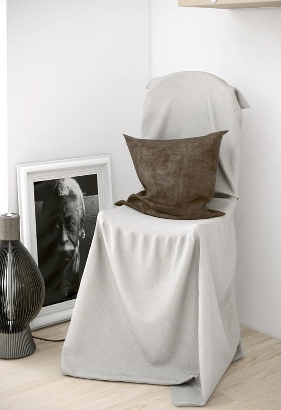 3d model chair nolen niu