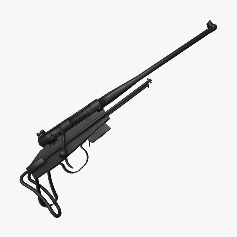 3ds max m4 survival rifle