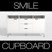 3d smile cupboard