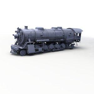 3dsmax steam train