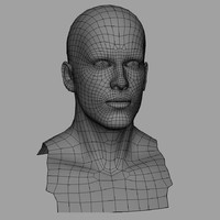 Male Head+UV