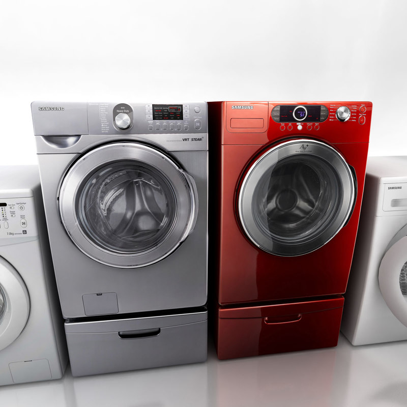 washing machines 3ds
