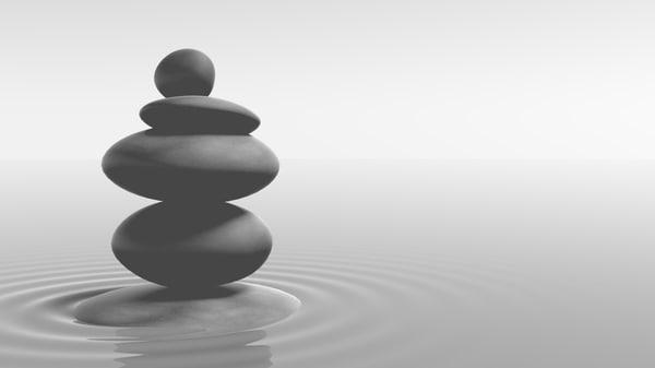 zen stone 3d model