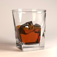 3d model alcoholic drink