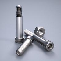 3d model precision socket cap fasteners
