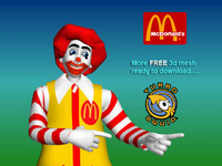 3ds max mc donald