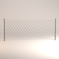 3d chain fence