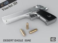 desert eagle pistol 3d 3ds