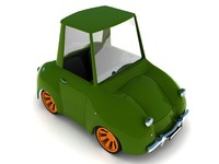 Funny toy car
