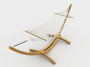 3d model hammock outdoor furniture
