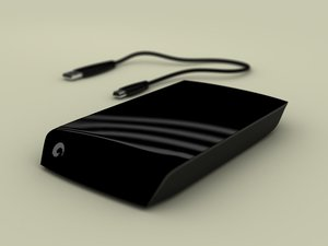 3d seagate external hdd model