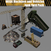 Mega Machinery - Junk Yard Pack