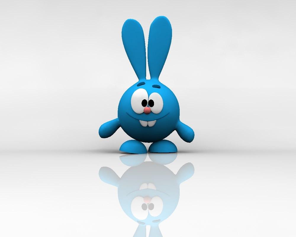 rabbit 3d lwo