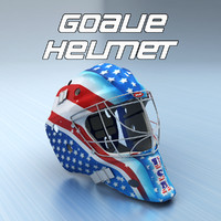 Goalie Ice Hockey Helmet - USA