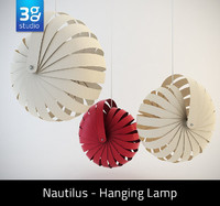 Nautilus  Hanging Lamp Shade
