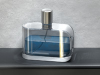 fragrance flakon 3d model