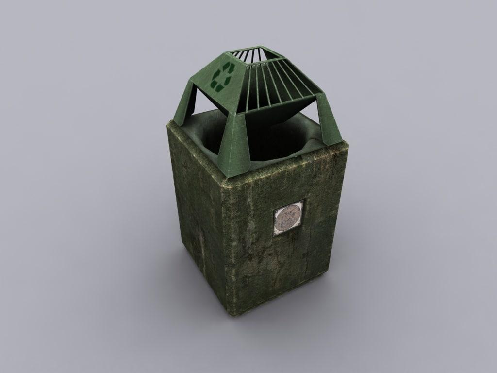 3d model tresh