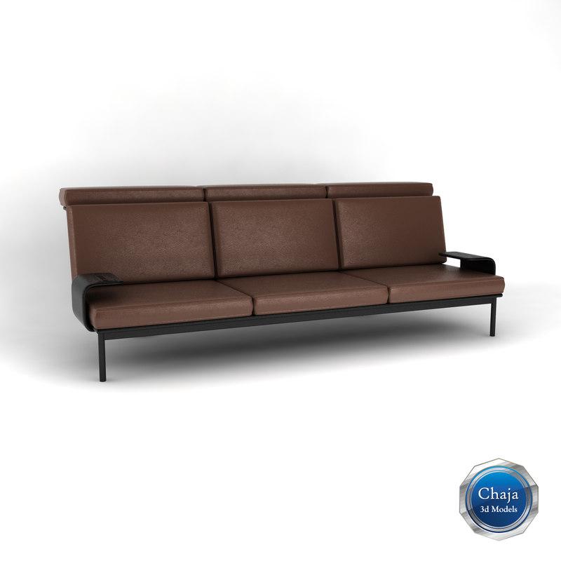 3dsmax sofa couch armchair