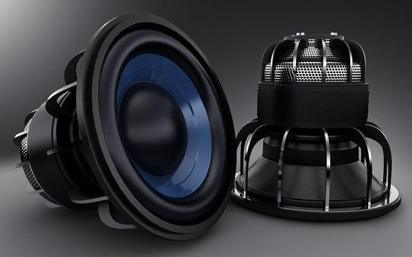 bass speaker 3d x