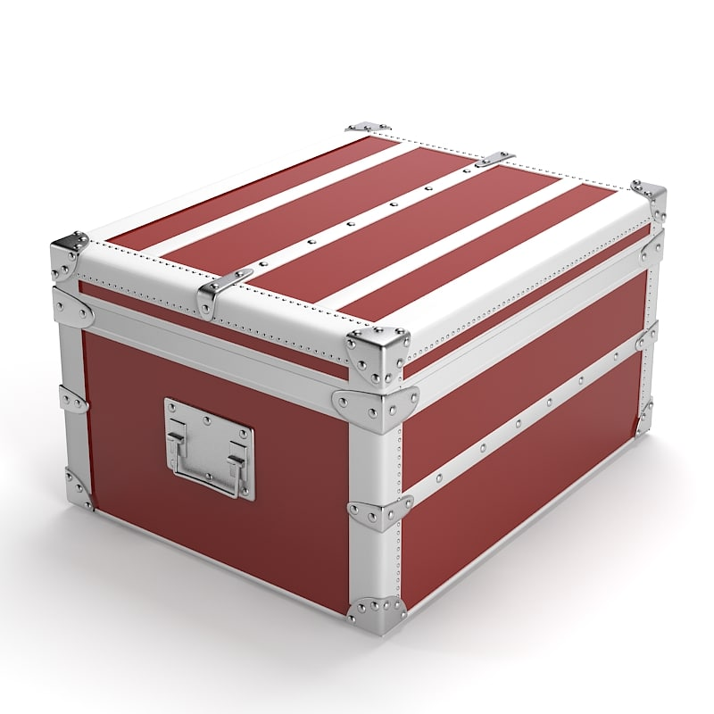 storage box art 3d model