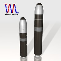 US Navy Trident Fleet Ballistic Missile Set