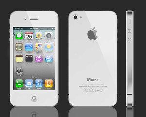 3d model apple iphone 4