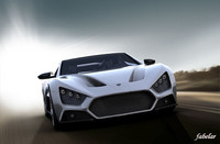 zenvo st1 mat 3d model