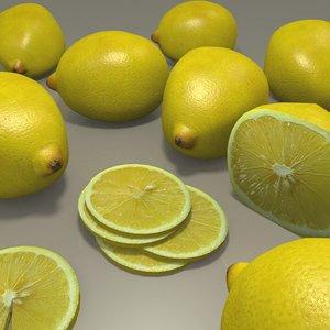 obj lemon set