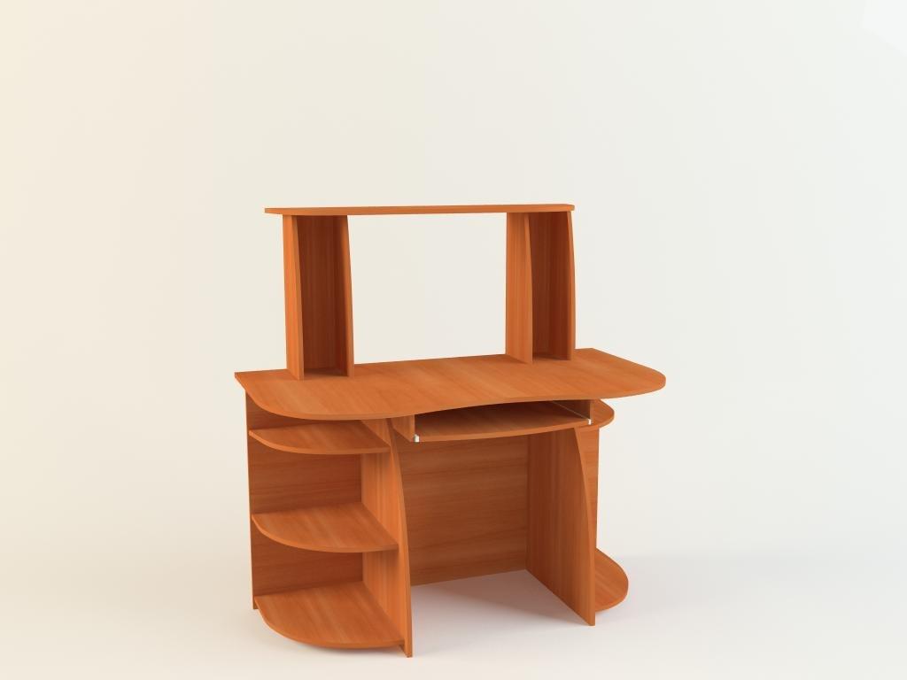 desk computer 3d model