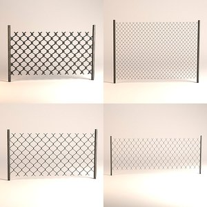 3ds max chain fence
