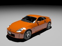 3d nissan 350z fair lady model