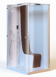 shower modern 3d model