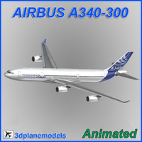 Airbus A340-300 Airbus House livery